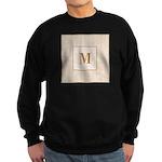 Laced Bisque Carre Monogram Sweatshirt (dark)