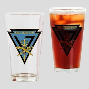 SEAL Team 17 Drinking Glass