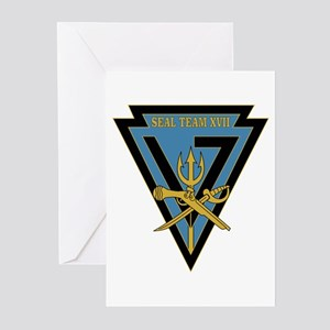 SEAL Team 17 Greeting Cards (Pk of 10)