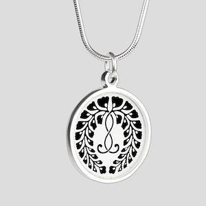 Kujo wisteria Silver Round Necklace