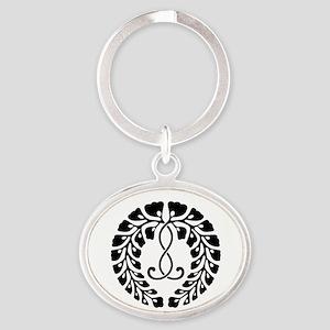 Kujo wisteria Oval Keychain