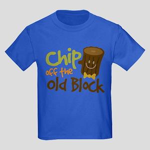Kids Chip off the block Kids Dark T-Shirt