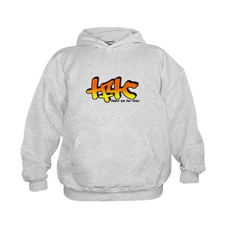 TFTC Orange Kids Hoodie