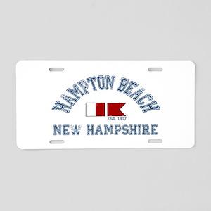 Hampton Beach NH - Nautical Design. Aluminum Licen