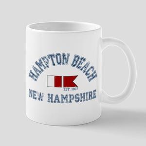 Hampton Beach NH - Nautical Design. Mug