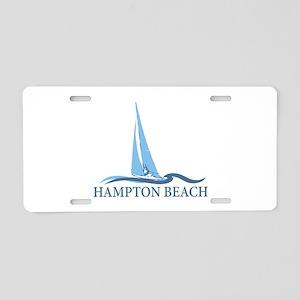 Hampton Beach NH - Sailboat Design. Aluminum Licen