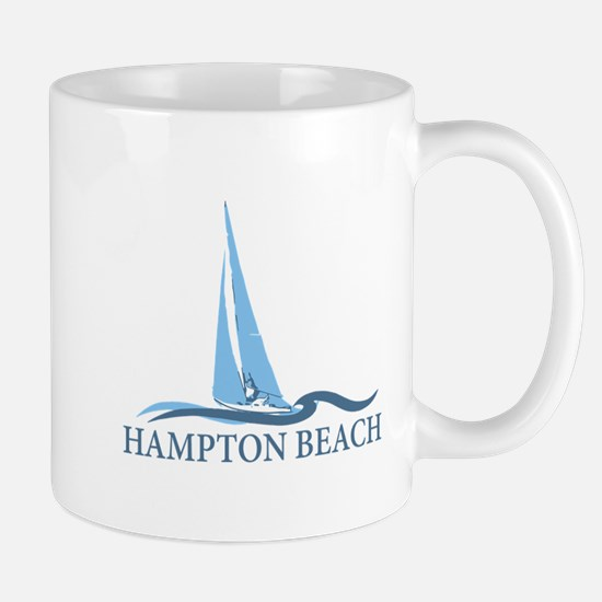 Hampton Beach NH - Sailboat Design. Mug
