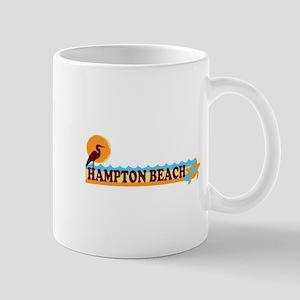 Hampton Beach NH - Beach Design. Mug