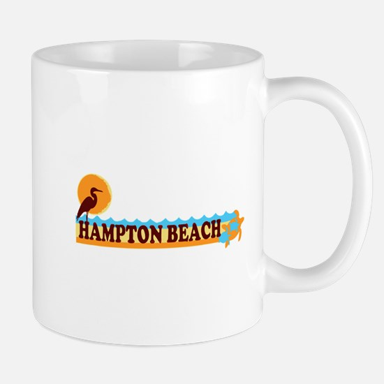 Hampton Beach NH - Beach Design. Mug