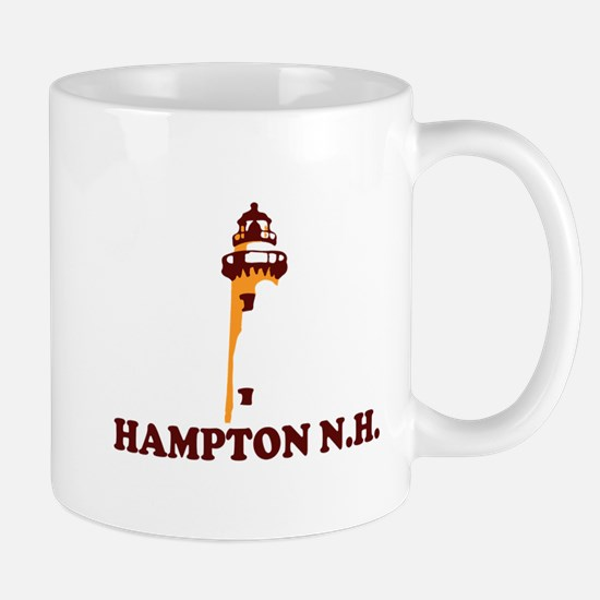 Hampton Beach NH - Lighthouse Design. Mug