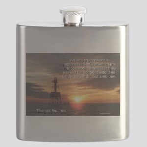 Virtue's True Reward - Thomas Aquinas Flask