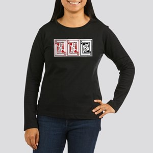 ffm (red and black) Long Sleeve T-Shirt