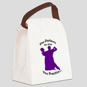 Ballroom Dance Lunch Bag