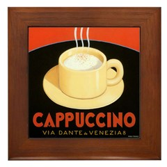 Cappuccino Framed Tile