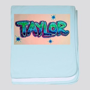 Taylor baby blanket