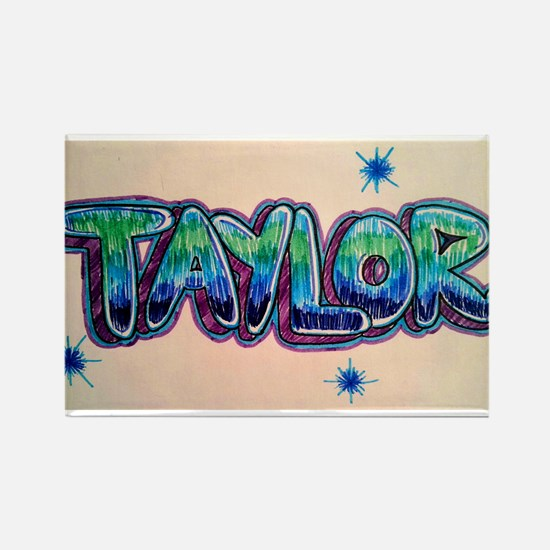 Taylor Rectangle Magnet