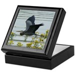 Flying Heron Keepsake Box