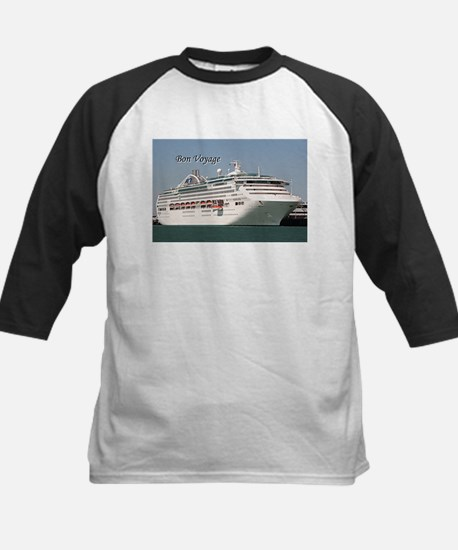 Bon Voyage: cruise ship Kids Baseball Jersey