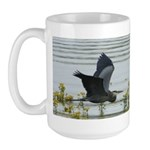 Flying Heron Large Mug