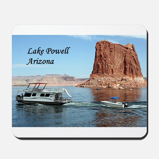 Lake Powell, Arizona, USA (caption) 1 Mousepad