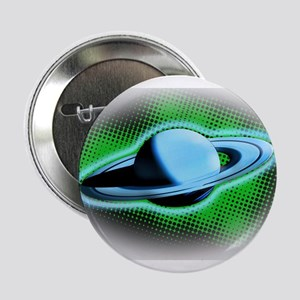 """Flying Saturn 2.25"""" Button"""