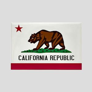 California Flag Rectangle Magnet