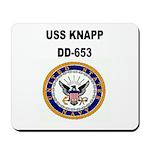 USS KNAPP Mousepad