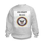 USS KNAPP Kids Sweatshirt