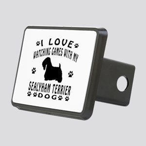 Sealyham Terrier design Rectangular Hitch Cover