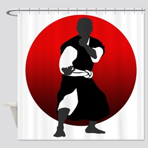 Shorinji Kempo Shower Curtain
