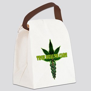 True Health Care Canvas Lunch Bag