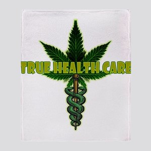True Health Care Throw Blanket