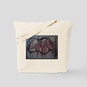 Graffitti love cloud Tote Bag