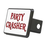 Party Crasher Rectangular Hitch Cover