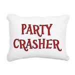 Party Crasher Rectangular Canvas Pillow
