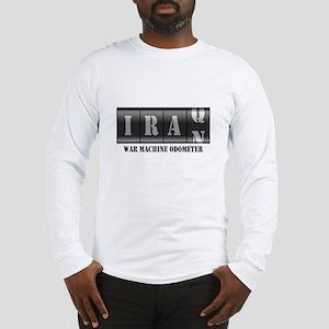 War Machine Odometer Long Sleeve T-Shirt