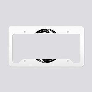 Four sickles License Plate Holder