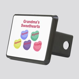 Custom Grand kids sweethearts Rectangular Hitch Co