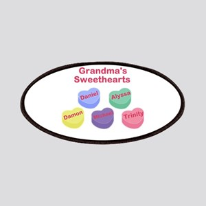 Custom Grand kids sweethearts Patches