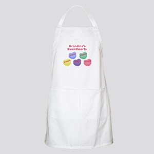 Custom Grand kids sweethearts Apron