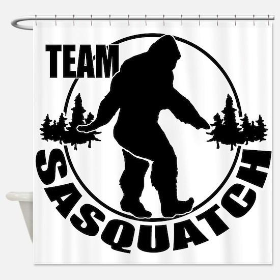 Team Sasquatch Shower Curtain