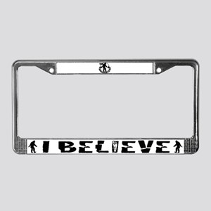 Team Sasquatch License Plate Frame