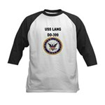 USS LANG Kids Baseball Jersey