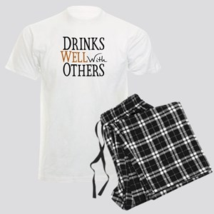 Drinks Well With Others Men's Light Pajamas