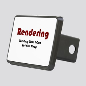 Rendering Lifestyle Rectangular Hitch Cover