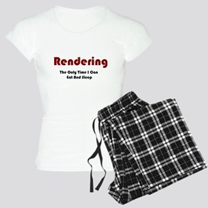 Rendering Lifestyle Women's Light Pajamas