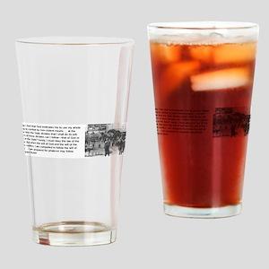 Bayard Rustin Drinking Glass