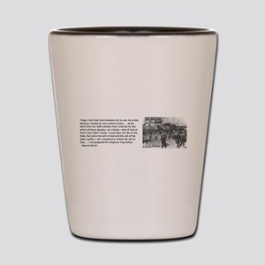 Bayard Rustin Shot Glass