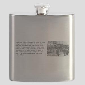 Bayard Rustin Flask