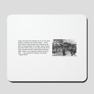 Bayard Rustin Mousepad